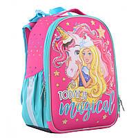 Рюкзак школьный каркасный 1 Вересня H-25 Unicorn (555365)