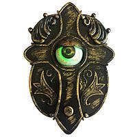 Распродажа! Живой дверной звонок на праздник хэлоуин - animated haunted eyeball doorbell, фото 1