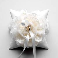 Весільна подушечка для кілець, фото 1