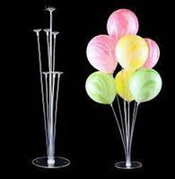 Стойка для воздушных шаров на 7 шаров, Фонтан из воздушных шаров