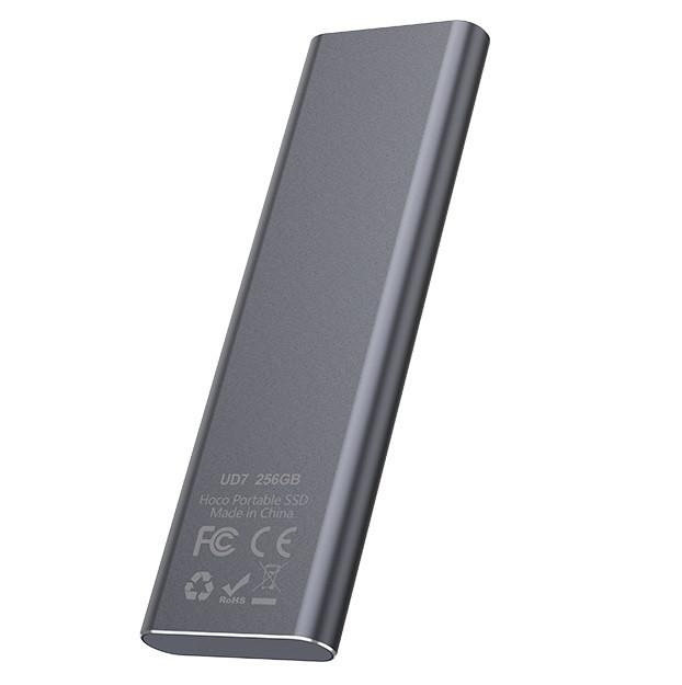 Внешний накопитель SSD Type-C HOCO UD7 256GB, серый