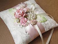 Свадебная подушечка для колец, фото 1
