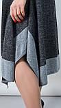 Адажио. Прелестное платье больших размеров. Графит., фото 7