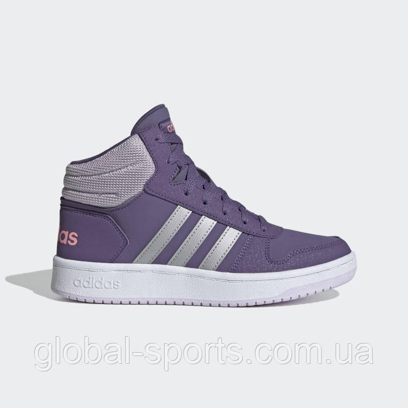 Детские кроссовки Adidas Hoops Mid 2.0 (Артикул:EH0170 )