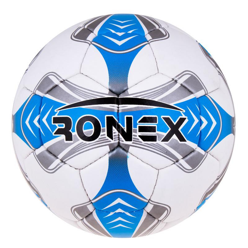 Мяч футбольный Grippy Ronex EGEO, синий.