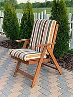 Матрас на кресло Кедр на Ливане серия Elit 110x47x11 см Полоска (1025)