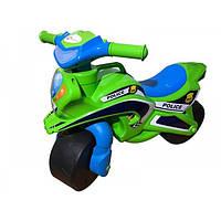 Мотоцикл-каталка Doloni Байк полиция музыкальный (0139/52)