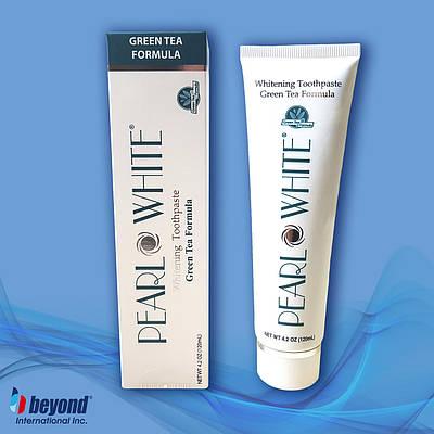 Відбілююча зубна паста з захистом від карієсу і при запаленні ясен Beyond Pearl White Green Tea 120мл