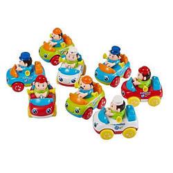 Детские инерционные спец. машинки с водителем Huile Toys рабочая машинка