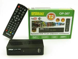 Эфирный цифровой приемник ТВ тюнер Т2 DVB-T OPERAsky OP-307, фото 2