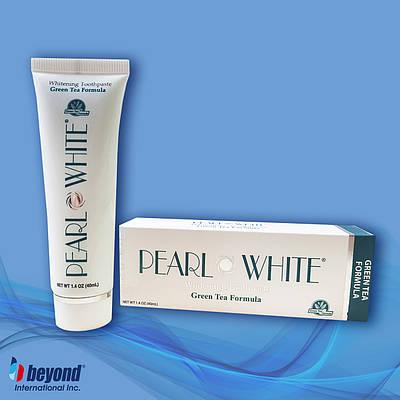 Відбілююча зубна паста з захистом від карієсу і запалення ясен Beyond Pearl White Green Tea 40мл