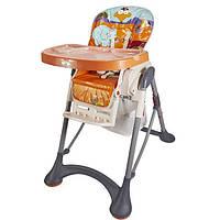 Детский стульчик для кормления от 6 месяцев до 3 лет Wonderkids Nemo, оранжевый