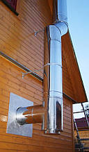 Дымоходные трубы для твердотопливных котлов