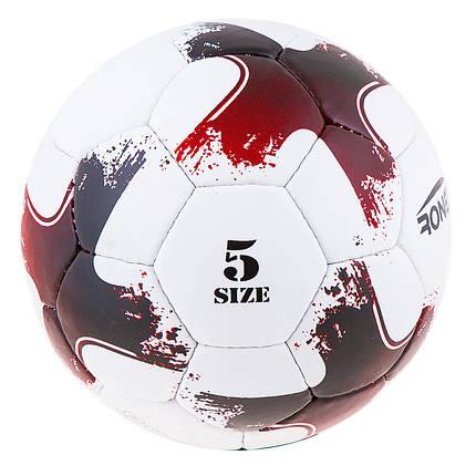 Мяч футбольный Grippy Ronex 2020-OMB, красный, фото 2