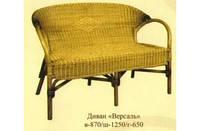 Диван из абаки+ротанг «Версаль» № 15