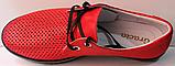 Червоні кросівки жіночі від виробника модель РУ137-2, фото 4