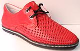 Червоні кросівки жіночі від виробника модель РУ137-2, фото 2