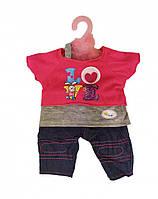 """Детский набор Metr+""""Кукольный наряд"""" для пупса Baby Born (Love)"""