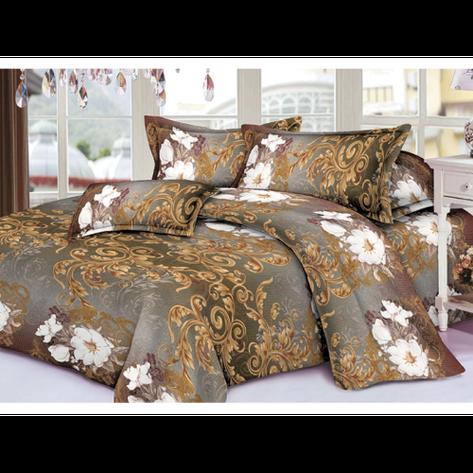 Качественное постельное белье ТЕП  RestLine 126  «Golden night» 3D дешево от производителя., фото 2