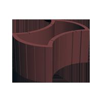 Цветочница круглая (450х660х250)
