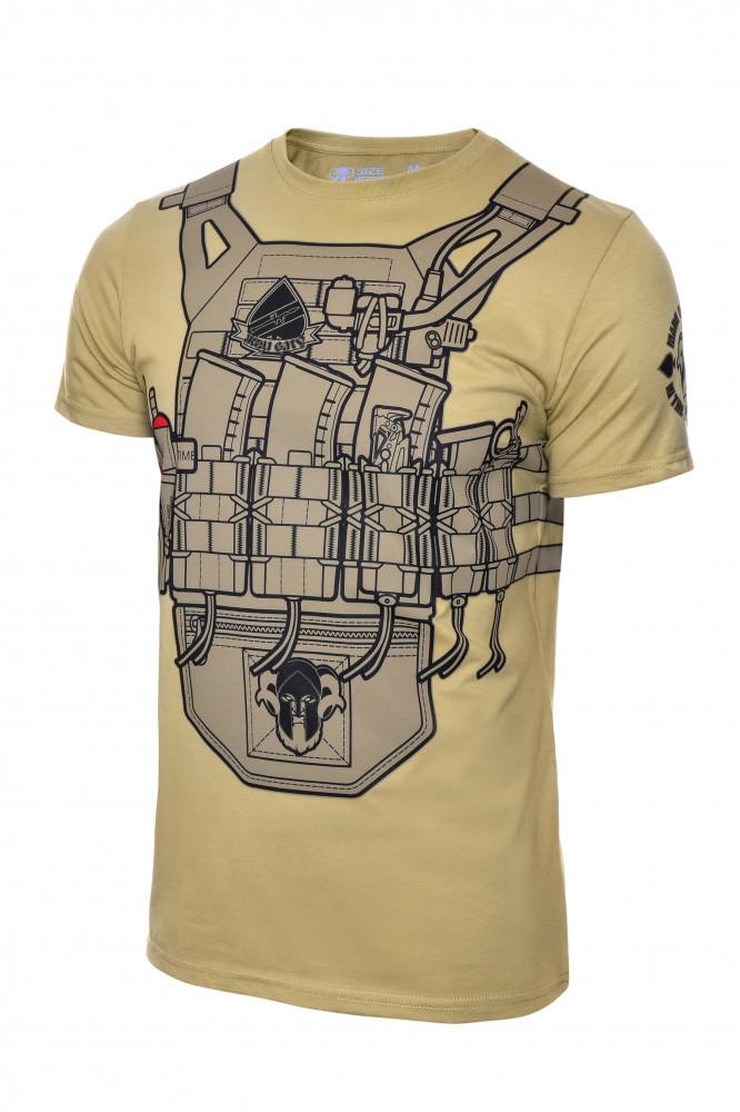 Arey футболка Plate 5,45 V2 койот