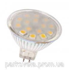 Светодиодная лампа  010-N MR16 3W