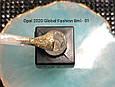 Гель лак OPAL Global Fashion 8мл №01 - прозрачный с золотом, фото 2