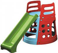 """Игровой комплект с горкой- Горка """"Башня"""" PalPlay Tower Gym  26677"""