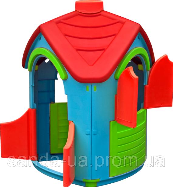 Детский игровой домик 102х95х126 см PalPlay Triangle Villa  26683
