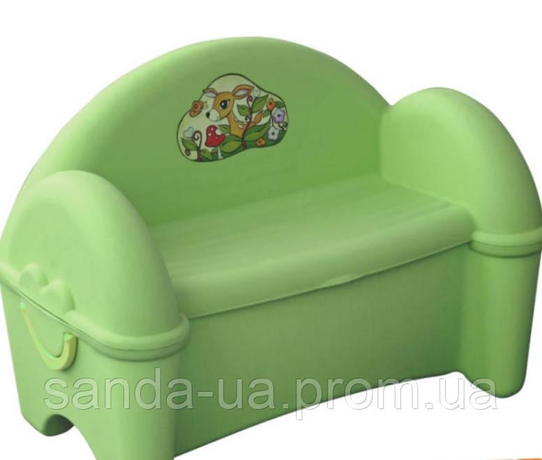 Лавка - сундук для детей  PalPlay , для хранения вещей 77х47х55 см , 26690