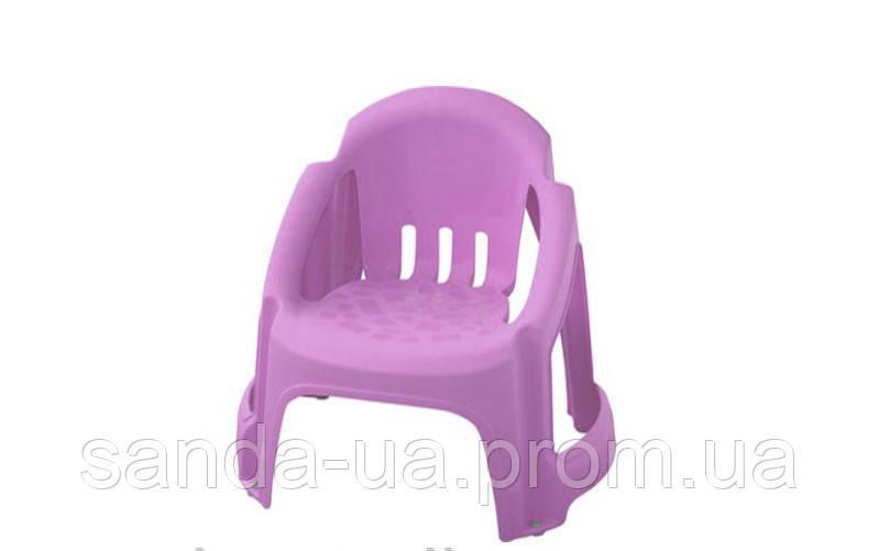 Детский стульчик PalPlay светлый -фиолет