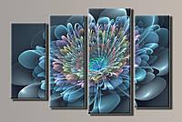 Картина Абстракция цветок HAF-048