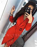 Платье женское вечернее чёрное, красное 42-44, 44-46