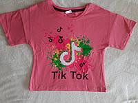 Модная футболка-топ для девочки Tik Tok 176 см