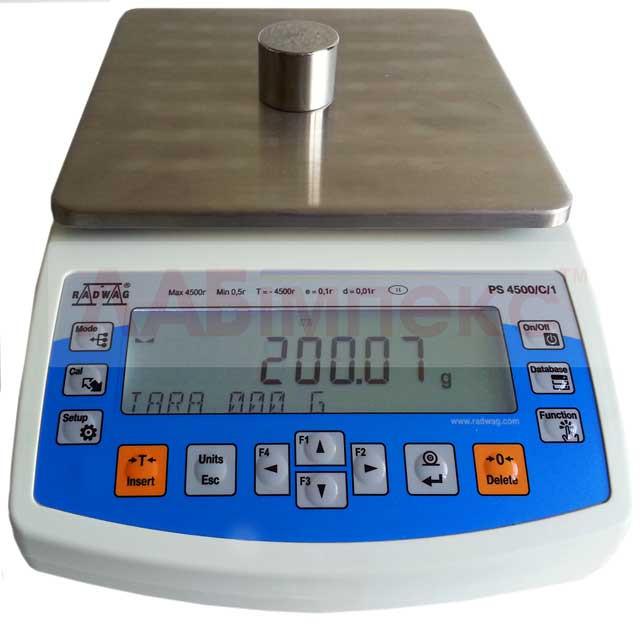 Весы лабораторные PS 4500/C/1 (PS 4500.R1), Radwag, Польша