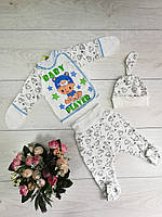 """Комплект ясельный """"Лялька"""" рост 56 см(1-3 мес.) и 62 см(3-6 мес.), фото 1"""