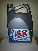 Охлаждающая жидкость (готовая) антифриз   Felix евро (синий) -35  5л