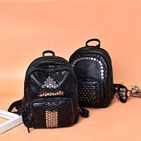 Заклепки женский рюкзак многофункциональный для отдыха и путешествий 2 вида, фото 1