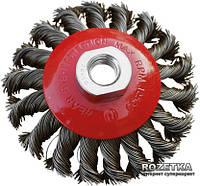 Щетка конусная Mastertool из плетеной проволоки М14 115 мм (19-8011)