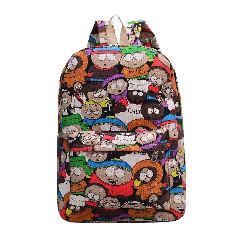 Рюкзак чоловічий жіночий шкільний портфель Саус Парк