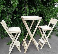 Набор стулья барные + стол.Стул высокий для кафе.