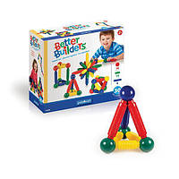 Конструктор-игрушка магнитный развивающий для детей Guidecraft Better Builders, 30 деталей