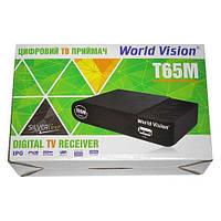 Цифровой эфирный приемник тюнер Т2 World Vision T65M