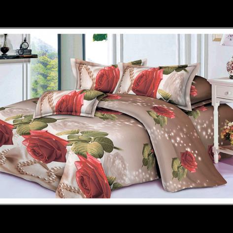Качественное постельное белье ТЕП  RestLine 128  «Rosalina» 3D дешево от производителя., фото 2