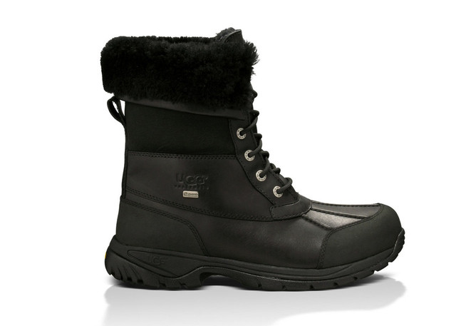 Мужские ботинки Угги зимние высокие на овчине Butte Ugg