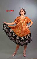 Яркие женские платья летние размеры 48-58