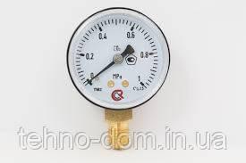 Манометр вуглекислотний 0-1 МПа