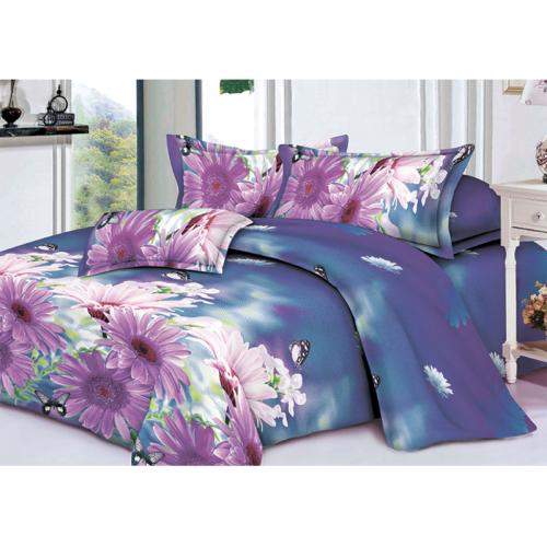 Качественное постельное белье ТЕП  RestLine 129  «Wild flower» 3D дешево от производителя.