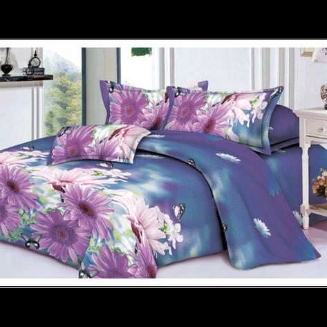 Качественное постельное белье ТЕП  RestLine 129  «Wild flower» 3D дешево от производителя., фото 2
