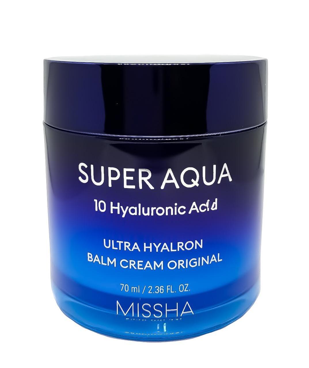 Увлажняющий крем для лица Missha Super Aqua Ultra Hyalron cream